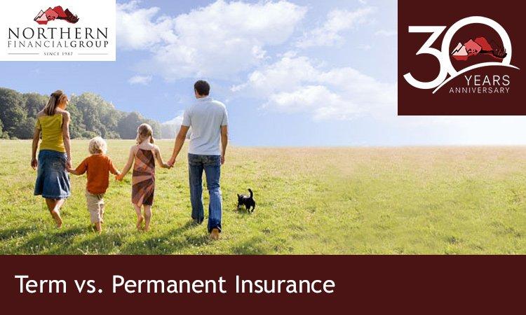 term insurance, permanent insurance